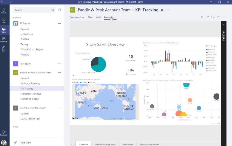 Teams Real Simple with Pictures – Using Power BI Dashboards for insights and data driven decisions within the Team