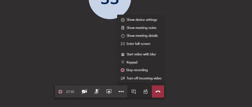 Teams: #FightCorona – In The Meeting: Recording a TeamsMeeting