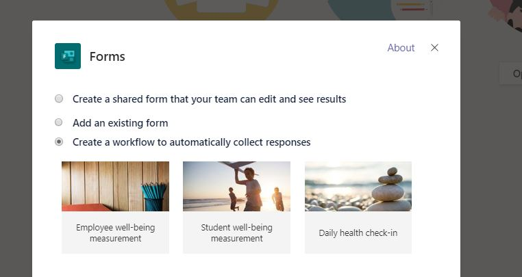 Teams Real Simple with Pictures: Sending Pulse Surveys to the Team using Forms