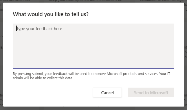 Teams Real Simple with Pictures: Managing User Feedback to Microsoft withPowershell