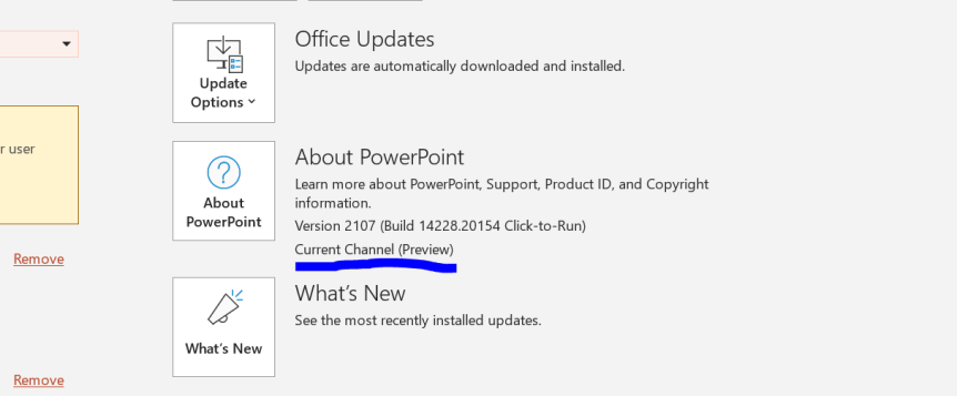 Teams Real Simple with Pictures: Aligning Teams Preview with the Office Current ChannelPreview